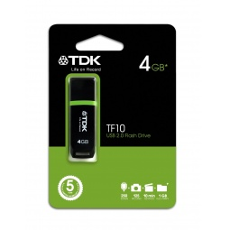 фото Флешка TDK TF10 Black 4GB 2.0 USB Flash Drive