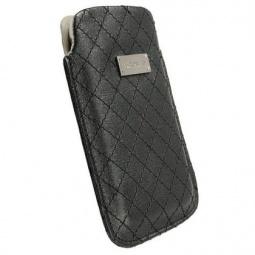 фото Чехол Krusell Coco Mobile Pouch. Размер: L. Цвет: черный