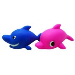 фото Набор игрушек для ванны Жирафики «Акула и дельфин»
