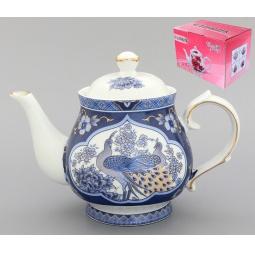 Купить Чайник заварочный Elan Gallery «Павлин синий» 180493