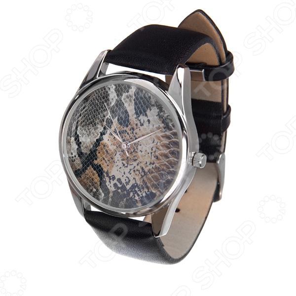 Часы наручные Mitya Veselkov «Принт-питон»