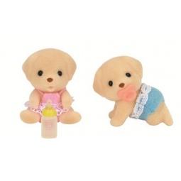 фото Набор игрушек-зверюшек Sylvanian Families 5189 «Лабрадоры-двойняшки»