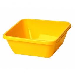 фото Таз квадратный IDEA М 2579. Цвет: желтый