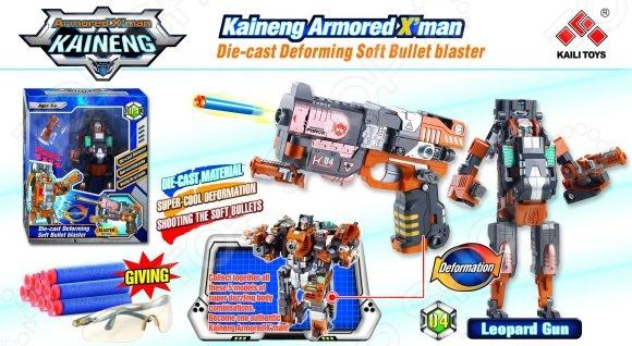 Робот-трансформер Shantou Gepai «Бластер с мягкими пулями» SB201-4