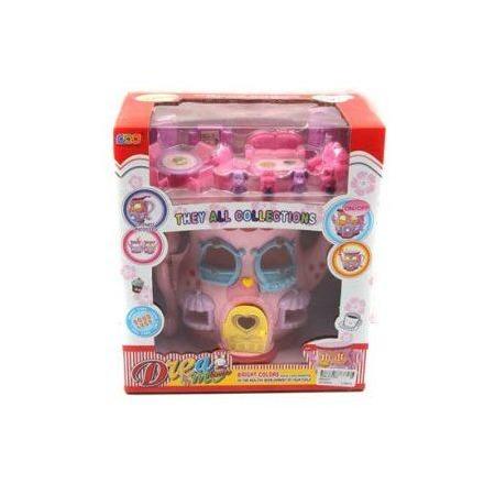 Купить Домик кукольный Shantou Gepai с мебелью «Чайник»