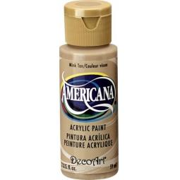 фото Краска акриловая DecoArt Премиум Americana. Цвет: желтовато-коричневый