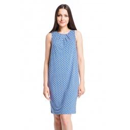 фото Платье Mondigo 7086-2. Цвет: джинсовый. Размер одежды: 44