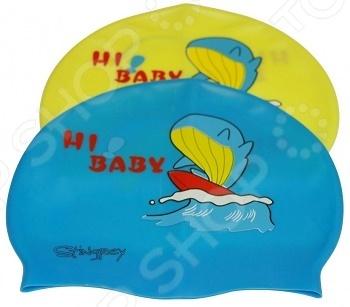 Шапочка для плавания с рисунком RH-Q. В ассортименте
