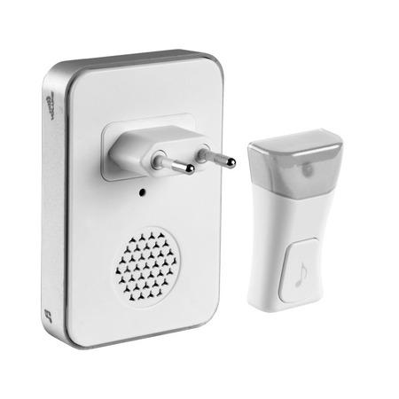 Купить Звонок электрический беспроводной Светозар «Соната» 58078