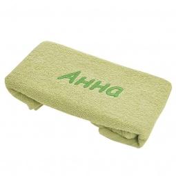 фото Полотенце подарочное с вышивкой TAC Анна. Цвет: зеленый