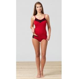 фото Комплект предпостельного белья BlackSpade 5729. Цвет: красный. Размер одежды: M