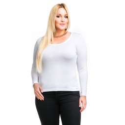 фото Кофта Mondigo XL 436. Цвет: молочный. Размер одежды: 50