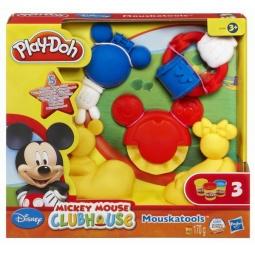 фото Набор пластилина Play-Doh Инструменты Микки Мауса