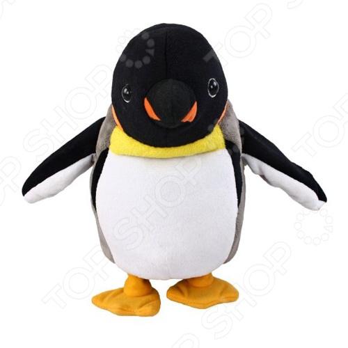 Мягкая игрушка интерактивная Fluffy Family «Пингвин Пинги-повторюшка»Мягкие интерактивные игрушки<br>Игрушка мягкая интерактивная Fluffy Family Пингвин Пинги-повторюшка - станет замечательным подарком для вашего малыша. Игрушка развивает мелкую моторику, координацию движения, формирует цветовосприятие и представление о причинно-следственной связи. Игрушка надолго привлечет внимание ребенка и он с увлечением будет открывать для себя новые возможности. Изготовлена из прочных и безопасных материалов.<br>