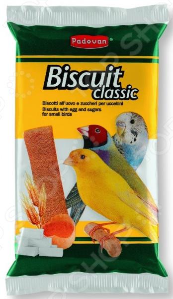 Лакомство для декоративных птиц Padovan 03962 «Бисквиты сладкие яичные»
