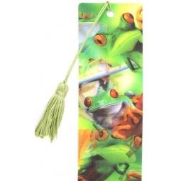 фото 3D-закладка для книг Липуня «Лягушки»
