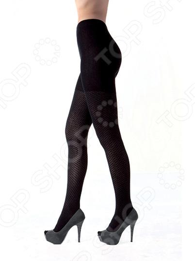 Колготки фантазийные Burlesco R52122. Цвет: черный