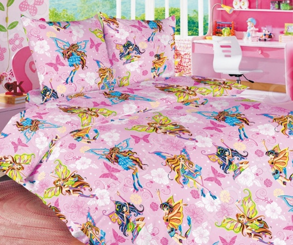Детский комплект постельного белья Бамбино «Волшебницы» детский комплект постельного белья бамбино волшебницы