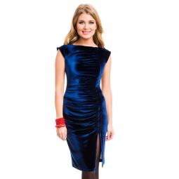 фото Платье Mondigo 7018. Цвет: темно-синий. Размер одежды: 46