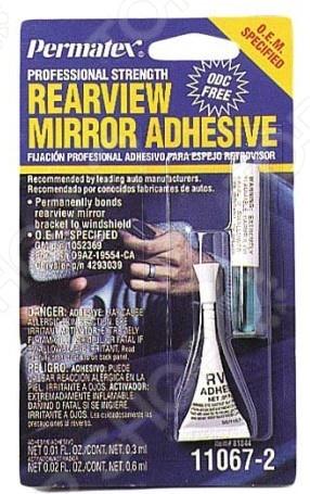 Клей акриловый для зеркала заднего вида Permatex PR-81844  цены