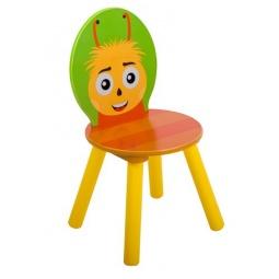 фото Стул детский круглый Лунтик «Пчеленок»