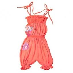 Купить Полукомбинезон для девочек Katie Baby Perfume Flowers. Цвет: красный