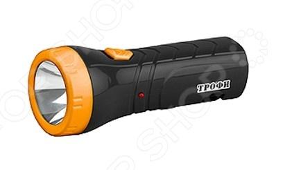 Фонарик аккумуляторный Трофи TA1 фонарь трофи ta1 4xled