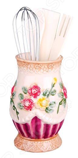 Набор кухонных принадлежностей Коралл «Романтика» банка для хранения с ложкой коралл романтика