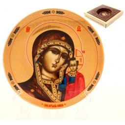 Купить Тарелка декоративная Elan Gallery «Казанская Божья Матерь» 502756