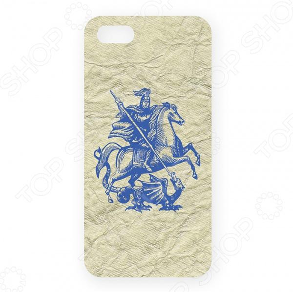 Чехол для iPhone 5 Mitya Veselkov «Георгий Победоносец» куплю золотую монету георгий победоносец в москве дешево