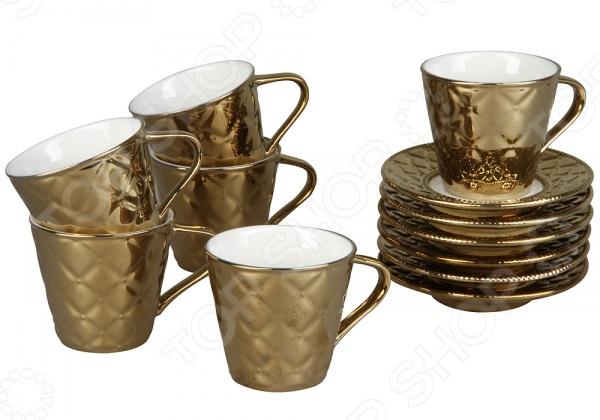 Кофейный набор Сервиз Rosenberg «Золотой Век»