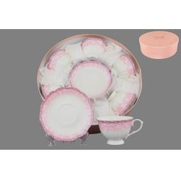 фото Чайный набор Elan Gallery «Розовое кружево»