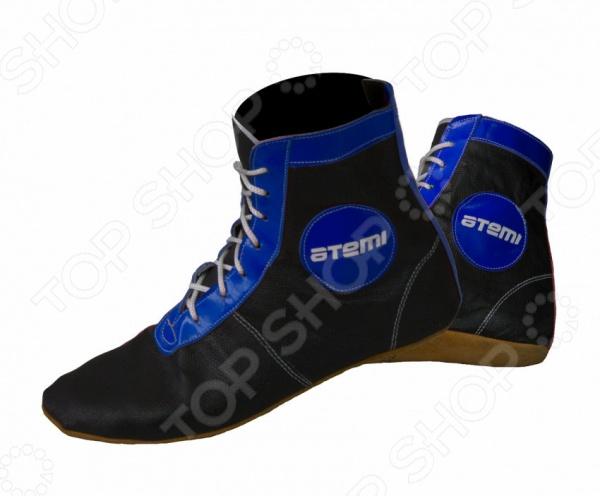 Самбовки Atemi ASSH-01 blue Самбовки Atemi ASSH-01 blue /