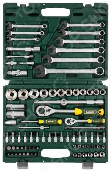 Набор торцевых головок Kraftool Expert Qualitat 27887-H82_z02 набор инструментов kraftool 82шт super lock expert qualitat 27887 h82 z02