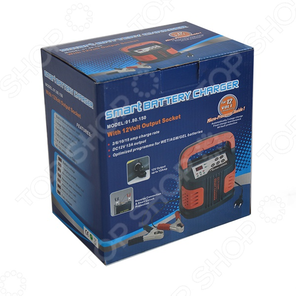 Устройство зарядное Carstel S-80150 - фото 3