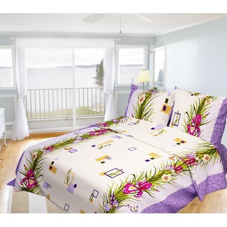 Купить Комплект постельного белья Олеся «Ирис». Семейный