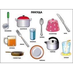 фото Посуда. Плакат