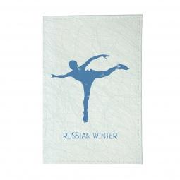фото Обложка для паспорта Mitya Veselkov «Фигуристка»