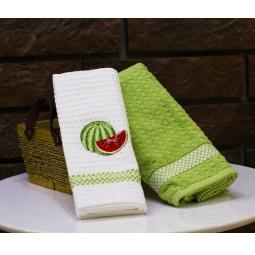фото Комплект из 2-х кухонных полотенец Mariposa Watermelon