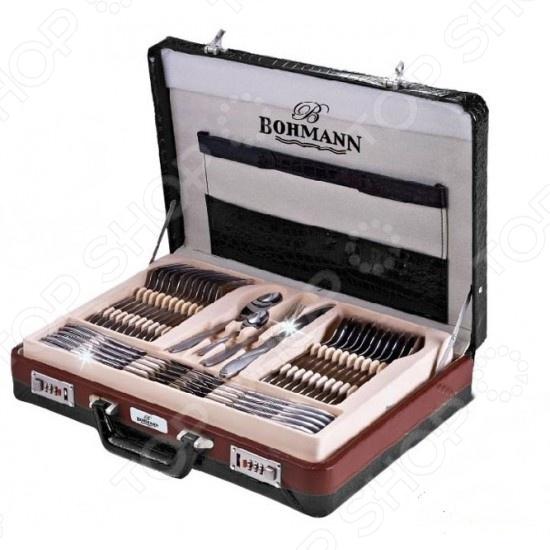 Набор столовых приборов Bohmann 5946ВН набор кухонных ножей bohmann на подставке 7 предметов