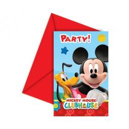 Купить Приглашения в конвертах Procos «Веселый Микки»