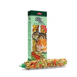 фото Лакомство для хомяков и мышей Padovan 01449 «Палочки с овощами»