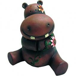 Купить Фигурка садовая GREEN APPLE GA200-18 «Бегемотик»