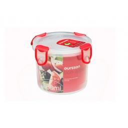 фото Контейнер для хранения продуктов Oursson Clip Fresh CP0700R. Цвет: красный