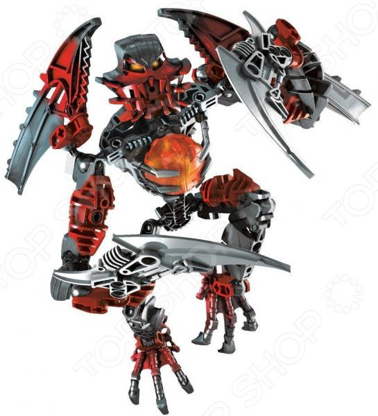 Конструктор для мальчика Bela «Красный воин» 9813Космолеты. Роботы. Трансформеры<br>Конструктор Bela Красный воин 9813 предназначен для таких маленьких, но уже таких любознательных малышей. Внутри яркой упаковки находится набор из множества деталей. Следуя подробной инструкции и собрав все части воедино, у ребенка получится самый настоящий робот, вооруженный мощными когтями и ядовитыми клыками. Конструктор Bela Красный воин 9813 способствует развитию зрительной координации, воображения, пространственного мышления, умения использовать форму предмета, а также мелкой моторики рук малыша. Кроме того, тренируется наблюдательность, образное восприятие и логическое мышление.<br>