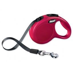фото Поводок-рулетка Flexi New Classic M-L. Цвет: красный