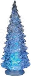 Ёлочка светодиодная Irit ING-105Елки<br>Ёлочка светодиодная Irit ING-105 - оригинальное рождественское декоративное украшение, которое в сочетании с елкой довершит чудесное преобразование интерьера перед праздником. Елочка отлично подойдет для украшения рабочего стола, комода, прикроватной тумбочки или подоконника. Высота изделия 12 см. Зимние праздники - самые любимые и долгожданные и это не удивительно, ведь Рождество и Новый Год - это всегда ожидание чего-то невероятного, сказочного и волшебного и для того, что бы это волшебство не рассеялось в ежедневных заботах и хлопотах стоит уделить особое внимание украшению интерьера. Дополните традиционную ёлку рождественскими композициями, венками, свечами, гирляндами и конечно не забудьте о праздничном декорировании фасада дома. Пусть ваш дом засияет праздничными огнями и заиграет яркими красками и тогда грядущий год непременно принесет в вашу семью счастье и радость. Элементы питания входят в комплект.<br>