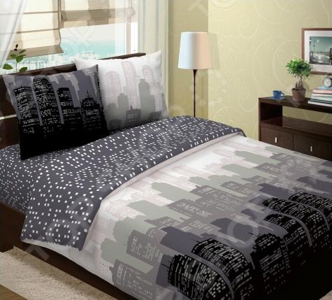Комплект постельного белья Seta Ravenna «Манхэттен». 1,5-спальный1,5-спальные<br>Спокойный и здоровый сон для человека также жизненно необходим, как и свежий воздух, ведь именно выспавшись, вы полны новых идей и сил для их реализации. Но возможен ли приятный сон на твердой кровати или некачественном постельном белье Конечно же, нет. Именно поэтому мы с гордостью представляем загадочный, фантастически красивый и роскошный комплект постельного белья от производителя Seta.  Роскошное белье для спокойного сна Seta Ravenna Манхэттен это постельное белье нового поколения , предназначенное для молодых и современных людей, желающих создать модный интерьер спальни и сделать быт более комфортным. Комплект изготовлен из мягкой и приятной на ощупь бязи. Яркий цвет и высокое качество продукции гарантируют, что атмосфера вашей спальни наполнится теплотой и уютом, а вы испытаете множество сладких мгновений спокойного сна. При изготовлении постельного белья Seta используются устойчивые гипоаллергенные красители.  Почему стоит выбрать постельное белье от бренда Seta  Изготовлено из экологически чистого, гипоаллергенного материала.  Отличается высокой гигроскопичностью и хорошо пропускает воздух.  Дополнено дизайнерским рисунком, который оживит помещение.  Легко в уходе, не выцветает даже после множества стирок.  В качестве сырья для изготовления данного комплекта постельного белья использованы нити хлопка. Натуральное хлопковое волокно известно своей прочностью и легкостью в уходе. Волокна хлопка состоят из целлюлозы, которая отлично впитывает влагу. Хлопок дышит и согревает лучше, чем шелк и лен. Поэтому одежда из хлопка гарантирует владельцу непревзойденный комфорт, а постельное белье приятно на ощупь и способствует здоровому сну.<br>