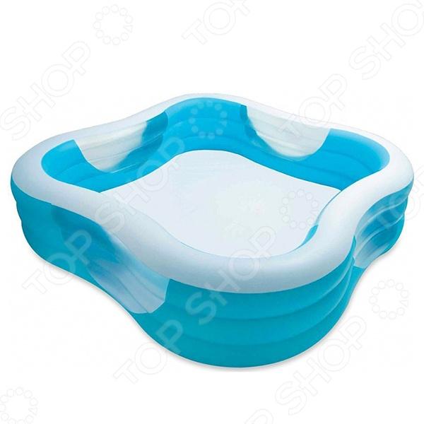 Бассейн надувной Intex 57495 надувной бассейн intex бассейн аквариум 152 56см