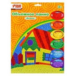 фото Набор для детского творчества Color Puppy «Объемное панно. Домик»